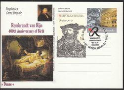 Croatia Zagreb 2006 / 400th Birth Anniversary Of Rembrant Van Rijn - Rembrandt