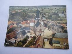 CPSM VIENNE 86 - NAINTRE VUE AÉRIENNE LE BOURG - Autres Communes