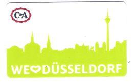 Germany - Carte Cadeau - Gift Card - Geschenkkarte - C&A - Düsseldorf - Fernsehturm - Funkturm - Gift Cards