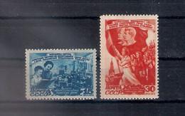 Russia 1947, Michel Nr 1114-15, MNH OG - 1923-1991 USSR