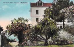 CARIBBEAN Caraïbes West Indies Antilles - BERMUDA Bermudes - HAMILTON : Hotel GROUDS - CPA - Caribe Caraibi - Bermudes