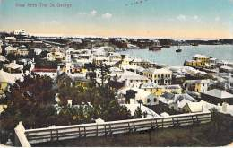 CARIBBEAN Caraïbes West Indies Antilles - BERMUDA Bermudes - View From The ST GEORGE - CPA - Caribe Caraibi - Bermudes
