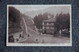 PLAN DU VAR - Le Pont Sur La Vésubie Et Le Monument Durandy - Francia