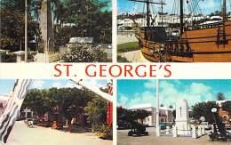 ** Lot Of 5 Postcards ** CARIBBEAN Caraïbes West Indies Antilles - BERMUDA Bermudes - ST GEORGE - CPA Et CPSM PF - Bermudes