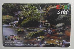 BRUNEI Rainforest  Recharge Phone Card - Brunei