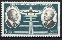 FRANCIA - 1971 - PIONIERI DELL'AVIAZIONE: D. DAURAT, R. VANIER - NUOVO MNH - France