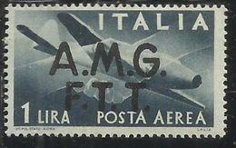 VENEZIA GIULIA 1945 - 1947 TRIESTE AMGVG POSTA AEREA AIR MAIL LIRE 1 MNH - Trieste