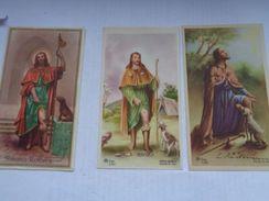 Réf: XXX:          SAINT-ROCH      ( 3 Images ) - Images Religieuses
