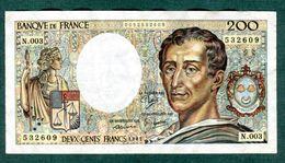 200  Fr  1981  N003 - 1962-1997 ''Francs''