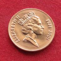 Fiji 2 Cent 2001 UNCºº - Figi