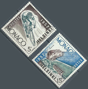 Monaco YT N°389-391 Jeux Olympiques D'Helsinki 1952 Oblitéré ° - Used Stamps