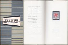 "Bund : Minister Card - Ministerkarte Typ III, Mi-Nr. 444 ** U. ESST : "" Deutscher Katholikentag 1964 Stuttgart "" R !   X - [7] République Fédérale"
