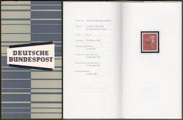 "Bund : Minister Card - Ministerkarte Typ III, Mi-Nr. 515 ** U. ESST : "" Deutscher Katholikentag 1966 Bamberg "" R !   X - Storia Postale"
