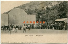Postal Kirsinger Plaza Euskara Juego Vasco Concepcion Chile - Cile