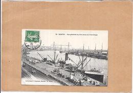 NANTES - 44 - Vue Générale Du Port Prise De L'Hermitage  - POIT - - Nantes