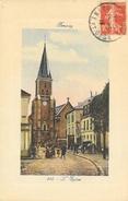 Brunoy (Seine-et-Oise) - L'Eglise - Edition De Luxe La Salamandre - Carte N° 316 Colorisée - Brunoy