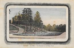 Juvisy (Seine-et-Oise) - Le Parc, Les Grottes Et La Pièce D'eau - Carte N° 12 Colorisée - Juvisy-sur-Orge