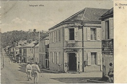 ST THOMAS W I  - Telegraph Office - Vierges (Iles), Amér.