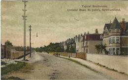 TYPICAL Residences,circular Road, St. John's , Newfounland -n°163 - St. John's