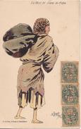 BE17-  MAROC  LA BETE DE SOMME DU MAROC ILLUSTRATEUR  TUGOT  EDITEUR GREBERT A CASABLANCA     CPA  CIRCULEE - Casablanca