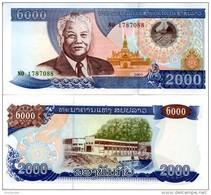 LAOS 2000 Kip P- 33  2003  *UNC* - Laos