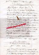 87-LIMOGES-LETTRE EMPIRE-CONGE REFORME PIERRE DEGLANE RTE ST JUNIEN-PEZENAS 1814-HOPITAL NARBONNE GENERAL BARON MULLER - Historical Documents
