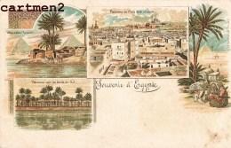 SOUVENIR D'EGYPTE MULTIVUES GRUSS EGYPT LE CAIRE CAIRO FIX § DAVID LE CAIRE CAIRO - Unclassified