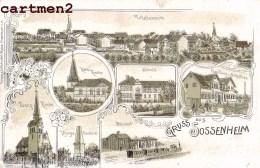 GRUSS AUS SOSSENHEIM FRANKFURT DEUTSCHLAND - Frankfurt A. Main