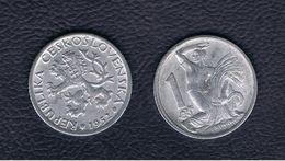 CHECOSLOVAQUIA  - 1 Koruna 1952  KM22 - Checoslovaquia