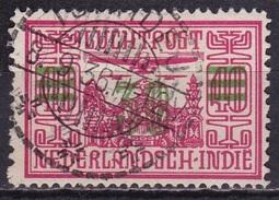 Ned. Indië: Langebalkstempel TJIWIDEJ (885) Op 1932 LP Met Opdruk 30 Cent In Groen / 10 Ct NVPH LP 12 - Indes Néerlandaises