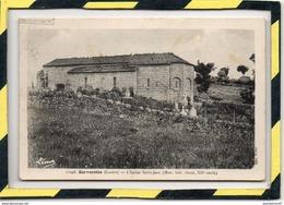 SERVERETTE. - . L' EGLISE SAINT-JEAN . LEMA - LEON MARGERIT. - Other Municipalities