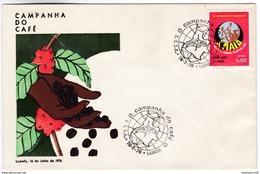 M42 Angola 1976 Campagne Café Coffee Campaign - Otros