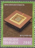 American Scientists Patent The Computer Chip, Information Technology MNH Togo - Informatik