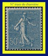 N° 161 SEMEUSE FOND LIGNÉ 1921-22 - N* TRACE DE CHARNIÈRE (VOIR VERSO) - - 1903-60 Semeuse Lignée
