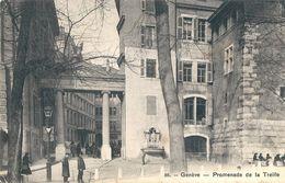 Suisse     GENEVE -  PROMENADE DE LA  TREILLE - GE Genève