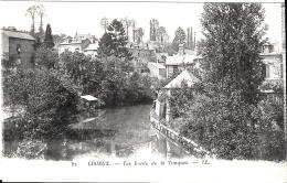 [DC10883] CPA - FRANCIA - LISIEUX - LES BORDES DE LA TOUQUES - Viaggiata - Old Postcard - Lisieux