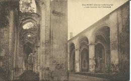 CPA- VALMONT - Les Ruines De L'Abbaye - 1945 (S122) - Valmont
