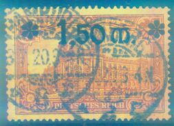 Nr. 117 Schön Gestempelt Geprüft INFLA - Deutschland