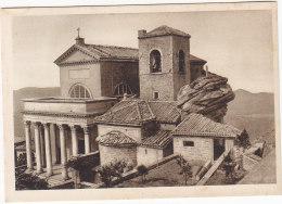 PGL AT684 - SAN MARINO CATTEDRALE COL MASSO ANNI '30 - Saint-Marin