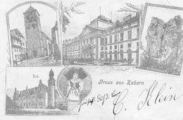 CPA - SAVERNE (67) - Carte Lithographique De 1900 - Saverne