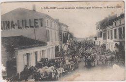 33 Podensac Pres Sauternes   La Maison Lillet  Recevant Un Convoi De Vin  Du Pays De Sauternes - France