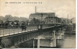 N°56589 -cpa Choisy Le Roi -le Pont Et La Gare- - Choisy Le Roi