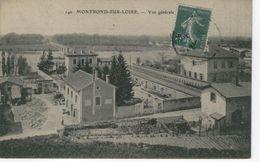 MONTROND SUR LOIRE (LES BAINS) Vue Générale ,Villas Bords De Loire - Bon état - Frankrijk