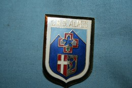 Ancien Insigne CRS ALPES - Police & Gendarmerie