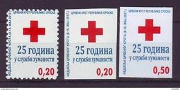 BiH Republic Srpska 2017 Y Charity Stamps Red Cross MNH - Bosnia Herzegovina