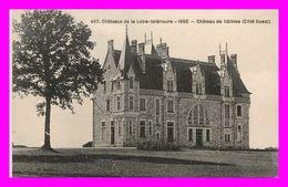 Théme Chateau - Issé  -  Le Chateau De Gatines  N°487  ( Scan Recto Et Verso ) - France