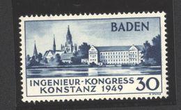 Baden,46 II,ungebraucht (5290) - Französische Zone