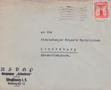 Timbres De Services Employés Par La NSDAP - Alsace-Lorraine