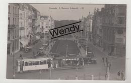 Oostende (originele Foto Oude Tram - L'Avenue Léopold) - Oostende