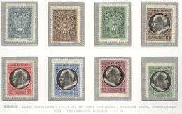 Vatican City 1945 Regular Issue, Unwatermarked MNH** - Lot. VA14 - Unused Stamps